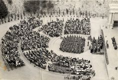 PHS graduation at Greek Theater (June 1945) by 47specialdeluxe, via Flickr