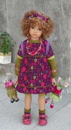 Dana...she's gorgeous! Angela Sutter's doll