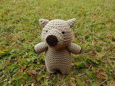 Amigurumi Crochet Pattern Wombat Pattern No.59 von PawPawsStudio