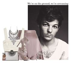 """""""7.0.8 - Louis Tomlinson"""" by zarina-fashion ❤ liked on Polyvore featuring Zimmermann, Inge Christopher, Miss Selfridge, Heels, Sexy, louistomlinson and pastels"""