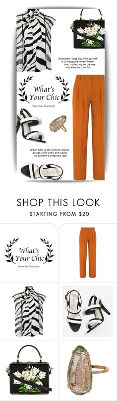 """Без названия #2045"" by marina-smile-nazarenko ❤ liked on Polyvore featuring Victoria, Victoria Beckham, Lanvin, Dolce&Gabbana and Suzanne Kalan"