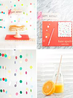 Birthday Party Ideas. Waffle Birthday Cake and DIY Streamers. #wafflecake  | mysplendidliving.com