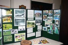 A Shire Brook Valley Heritage Group display.