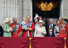 The Queen attends Trooping the Colour - June 13, 2015