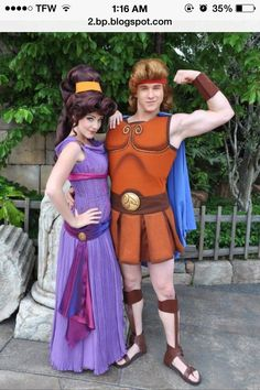 23 Unique And Creative Halloween Couples Costumes Ideas – My World Disney Couple Costumes, Cute Couple Halloween Costumes, Theme Halloween, Cute Costumes, Creative Halloween Costumes, Halloween Cosplay, Halloween Outfits, Costumes For Women, Costume Ideas