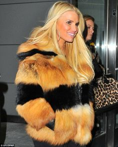 JESSICA SIMPSON has always been a huge fur hag. No idea which shows she has been a part of, BUT she's been infamous for being a selfish, uncaring, fur hag.