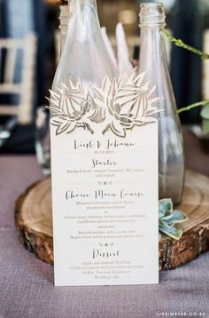 We specialise in creating exclusive wedding stationery such as invitations, save-the-date cards, etc Plan Your Wedding, Wedding Tips, Wedding Planning, Wedding Stuff, Protea Wedding, Wedding Flowers, Wedding Invitation Design, Wedding Stationery, Silver Save The Dates