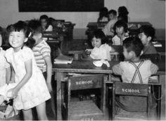 Schoolchildren in Japanese internment camp - Topaz, UT