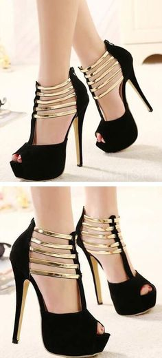 Fashiontrends4everybody: I want these cute high heels! Fashion shoes