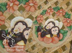 Arte Madeira Joinville: Pintura Country e Folk Art
