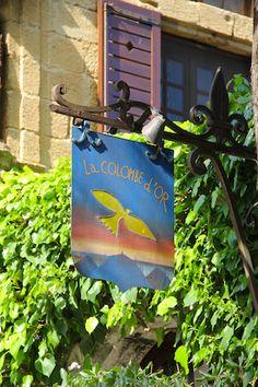 La Colombe D´or- St Paul de Vence. Restaurant- France