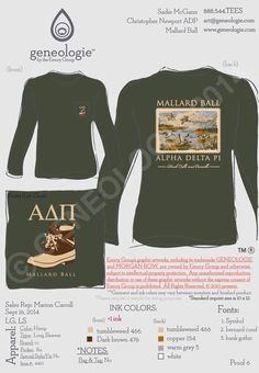 obsessed with our mallard shirts