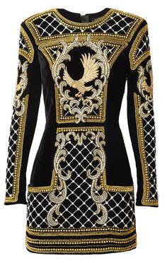 La collection capsule Balmain pour H&M sort le 5 novembre en boutique. Des vestes en velours brocard brodées de perles aux pantalons en cuir en passant par les mini-robes pailletées... Découvrez l'intégralité de la collection sur Vogue.fr pour préparer votre shopping list.