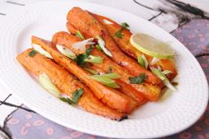 Roasted Carrots with Cumin Coriander and Honey