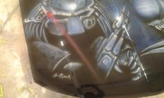Predator hood 2012 http://artmindsoul.com for more pics