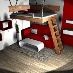 Vysoká patrová postel