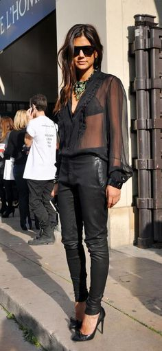 PROPOSITO DE MODA: Como usar una blusa de gasa