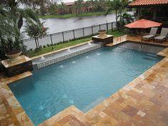 Pool Builders, Inc. - Geometric Swimming Pool | Flickr - Photo Sharing!