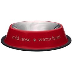 I pinned this Cold Nose Warm Heart Pet Bowl from the Preppy Pet event at Joss and Main!