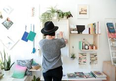 """Gallery meets living room meets shop"": that's how Kelly Lynn Jones of San Francisco's Little Paper Planes describes her Mission District boutique, the brick-and-mortar home for the online art and design destination she launched a decade ago. ""I love the intersection of art and design, where function and non-function come together,"" she says. ""And I often choose pieces that will have a dialogue with the other items I have in the shop."""
