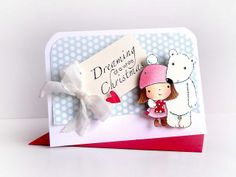So cute....Penny Black stamps Mimi and Polar Bear by cathy.fong, via Flickr