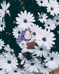 Drawing Of Girls Cute Cartoon Cute Cartoon Drawings, Cartoon Girl Drawing, Girl Cartoon, Cartoon Memes, Cartoon Art, Cartoon Characters, Art And Illustration, Islamic Cartoon, Anime Muslim