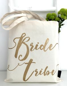 Hen party accessories. Bride tribe tote, Kelly Connor Designs #henparty