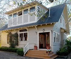 I am a sucker for fixer-uppers and so when I stumbled upon this charming 1910 bungalow that just underwent a major renovation I had to share...