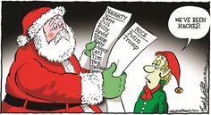 Hacked Santa