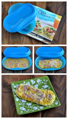 Multi Omelette - Para preparaciones a base de huevo en el microondas. Apto para lavavajilla