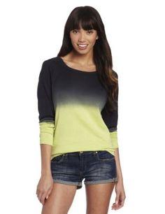 Volcom Juniors Fun Dipped Sweater,$49.50 - $50.00