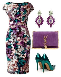 """Без названия #219"" by kingcup ❤ liked on Polyvore featuring mode, Phase Eight et Yves Saint Laurent"