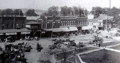 Talladega Town Square..1900