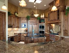 Image detail for -... Carved Elements - Pictures of 9 Luxury Tuscan Kitchen Decorating Ideas