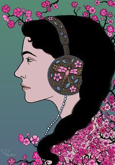 """""""Girl In Headphones"""""""