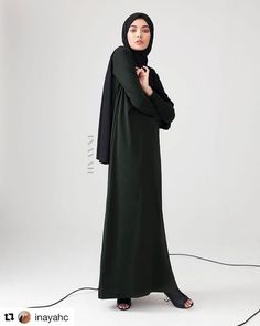 #Repost @inayahc with @repostapp  Casual comfort coupled with flattering silhouettes for maintaining modesty while always on the go! Emerald Basic Maxi with Rib Detail - Last pieces remaining! Black Linen Effect Hijab  www.inayah.co  SUBHAN ABAYAS share it more then 2000 Abayas Designs. Follow   @SubhanAbayas @SubhanAbayas @SubhanAbayas  #SubhanAbayas #abaya #beauty #muslim #fashion #muslimfashion #picoftheday #happy #girl #blog #love #pic #lookoftheday #hijab #instagood #ootd #uae…