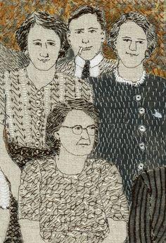 Family Gathering (detail) 2014