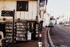 books on the street