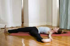 Yoga for a flat stomach! Such a great waist shrinker!