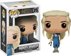 La figurine pop Daenerys Targaryen (robe bleue) en détails : notez, commentez et parlez de Daenerys Targaryen (robe bleue) avec les autres membres. Où acheter ou trouver la figurine Daenerys Targaryen (robe bleue) de la collection Game of Thrones.