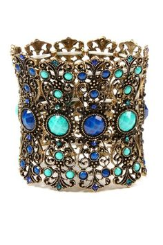 Browse more Amrita Singh ...  Previous Item    Next Item    Amrita Singh  Hampton Bay Cuff  $39.00
