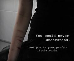Self harm awareness Suicide Quotes, Depression Quotes, Depression Kills, How I Feel, Sad Quotes, Qoutes, Deep Thoughts, Anxiety, It Hurts