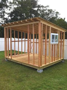 How to build a storage shed, For more free shed plans here is a list that contai. - How to build a storage shed, For more free shed plans here is a list that contain lots of sizes and - Storage Shed Kits, Building A Storage Shed, Building Ideas, Storage Ideas, Roof Storage, Outdoor Storage, Diy Shed Kits, Easy Storage, Shed Building Plans