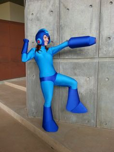 Rule 63 Mega Man #Cosplay