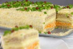 Закусочный торт «Наполеон». Самый вкусный торт-салат на праздничный стол