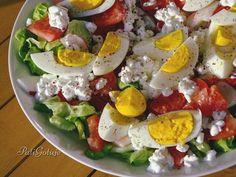 Pasta Salad, Cobb Salad, Salad Recipes, Healthy Recipes, Diy Food, Food Porn, Dinner Recipes, Good Food, Food And Drink
