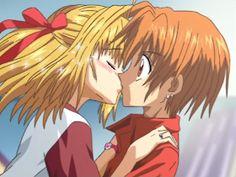 Lucia x Kaito Anime Nerd, Anime Kiss, Anime Love, Anime Manga, Anime Couple Kiss, Cute Anime Couples, Mermaid Melody, Mermaid Princess, Kaito