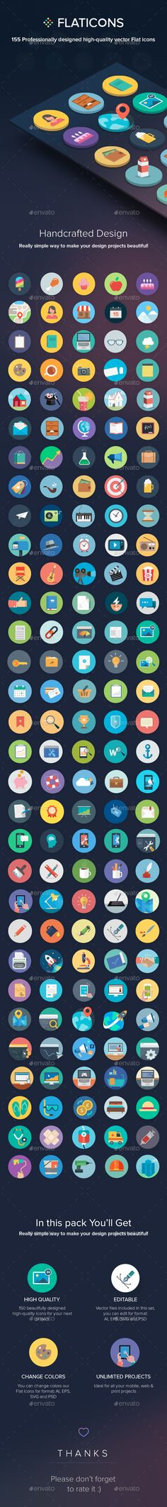 150 Flat Icons. Download here: http://graphicriver.net/item/150-flat-icons/16634808?ref=ksioks