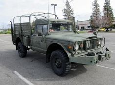 1968 Jeep M715 4 X 4 Military Truck Serial # 35742 with 25,581 Original Miles - Government Liquidation