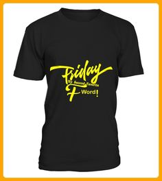 FRIDAY SECOND F WORD gelb - Beast shirts (*Partner-Link)
